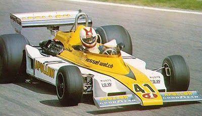 1977 Loris Kessell, Jolly Club Switzerland Team, Williams Apollon FW03 Ford