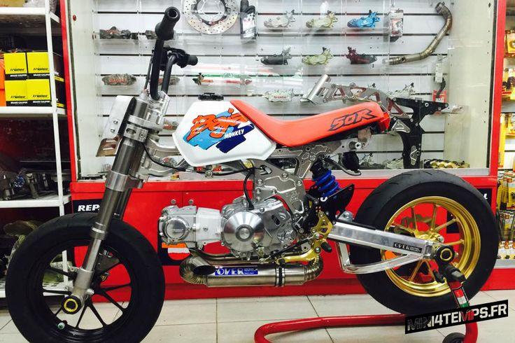 Le Honda Monkey Baja de 楊進輝