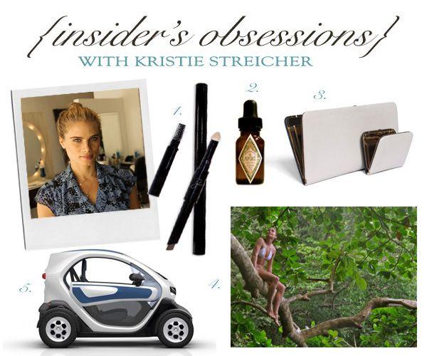 INSIDER'S OBSESSIONS: KRISTIE STREICHER