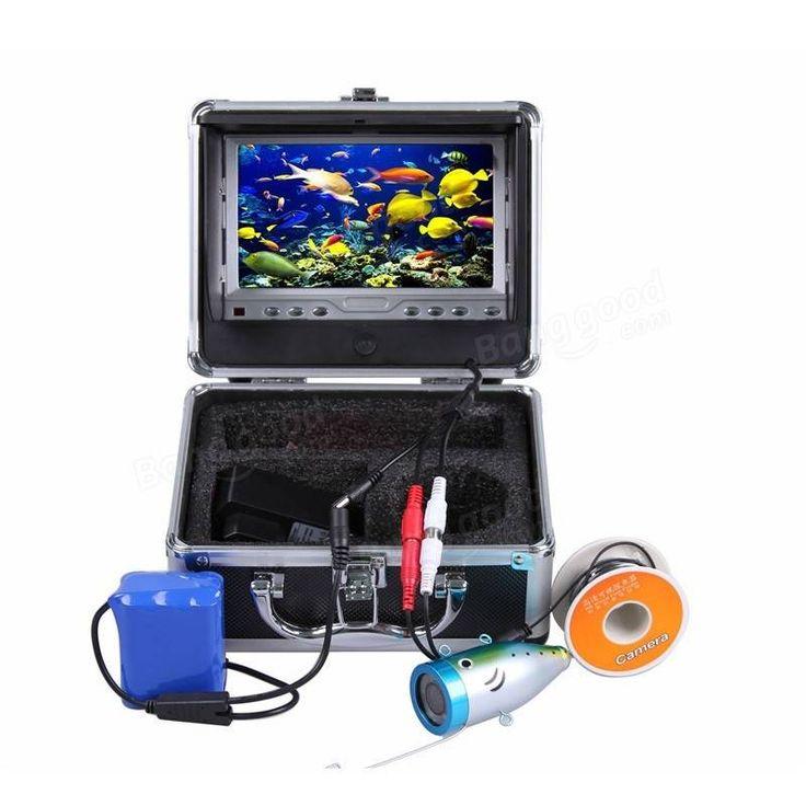 CR110-7LS 7 inch LCD Underwater Video Camera HD 700TVL with Light Fish Breeding Monitor
