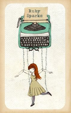 "poster ""Ruby Sparks"" film"
