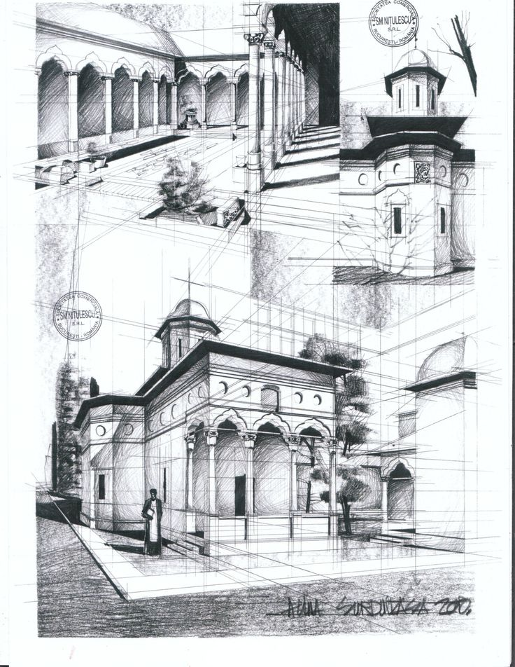 Stavropoleos Church Bucharest by AlinaGeorgia7.deviantart.com on @deviantART