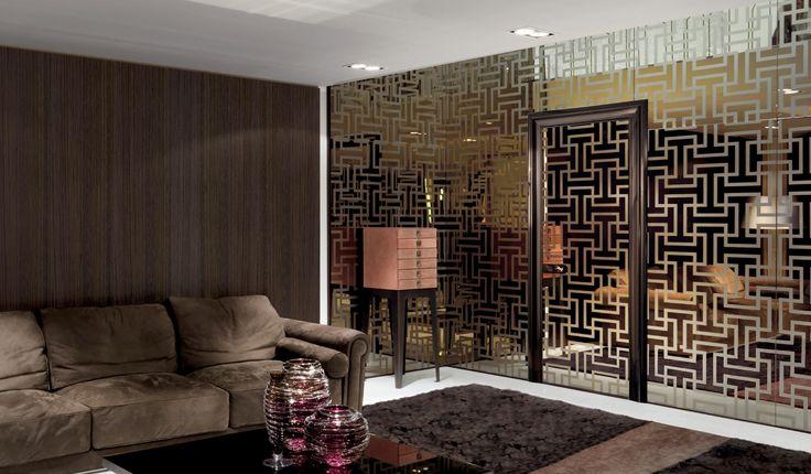 Ianus by Longhi S.p.a. | Glass dividing walls