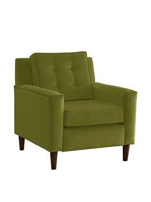 51% OFF Skyline Furniture Armchair, Velvet Applegreen