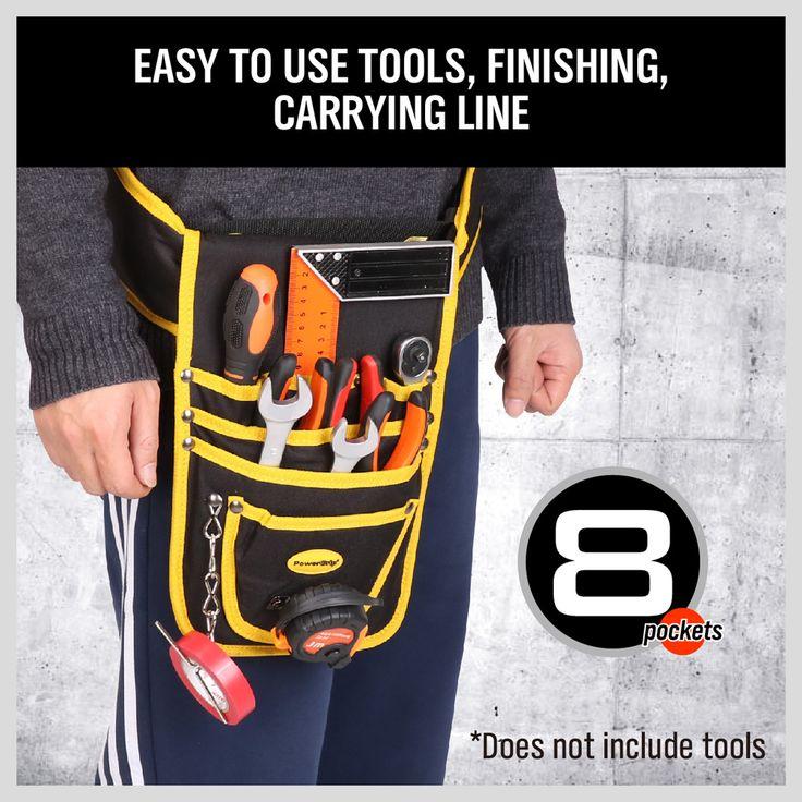 Tool bags Oxford Waterproof Fabric Electrical Tool Bag Storage Box Multi Bags Tool Belt Saddle Bag AD1030