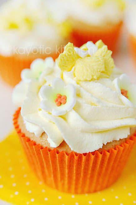 Strawberry Cream Cheese Cupcakes