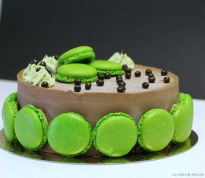 Gateau chocolat passion mercotte