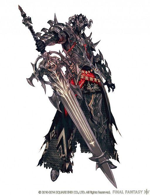暗黒騎士  FF14 | ファイナルファンタジーXIV:新生エオルゼア