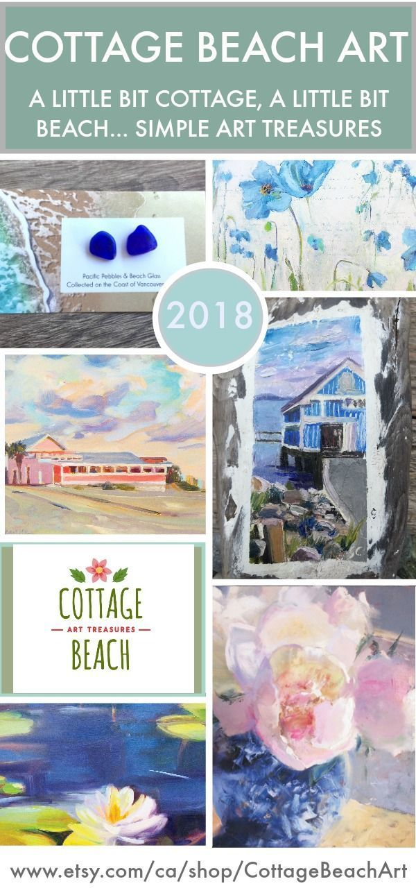 Beautiful Cottage Beach Themed Art Prints Original Decor Jewelry To Bring Summer Your Life Simple Treasures For The Eclectic