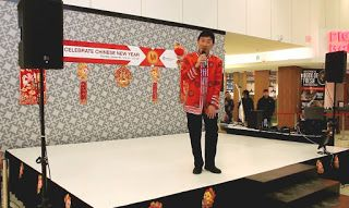 Artist Peter Suk Sin Chan  畫家 陳叔善: Chinese New Year Celebration at the CENTERPOINT MA...