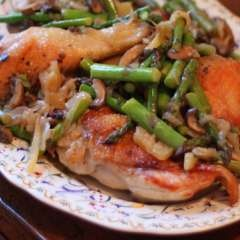 Chicken with Preserved Lemon and Asparagus: Chicken Recipes, Asparagus Recipes, Preserved Lemons, Preserves Lemon, Lemon Aren T