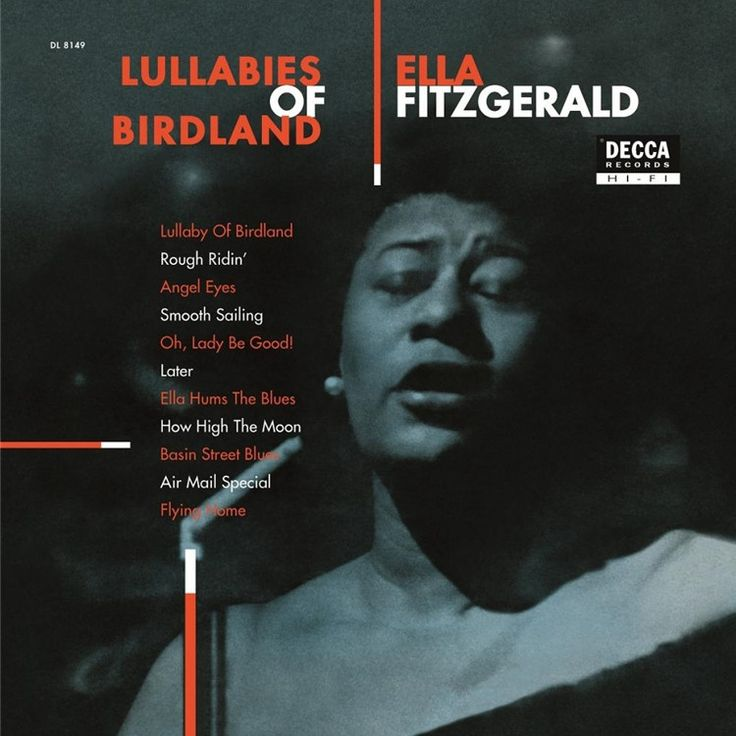 Ella Fitzgerald - Lullabies Of Birdland on Limited Edition 180g Import LP