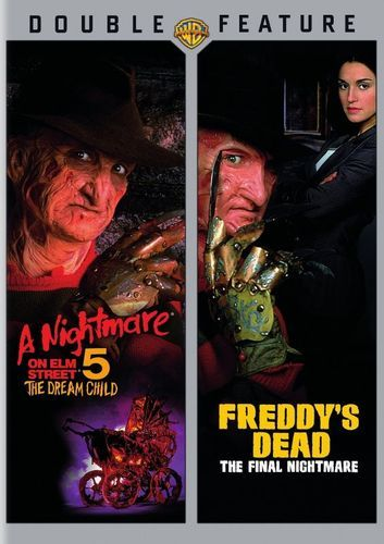 A Nightmare on Elm Street 5: The Dream Child/Freddy's Dead: The Final Nightmare [2 Discs] [DVD]