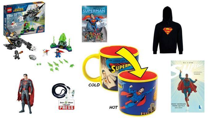 It's a Bird! It's a Plane! It's A Superman Gift Guide!