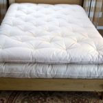 "Mattress topper with ECO-Pure Wool Fill is approx 4-5"" thick"