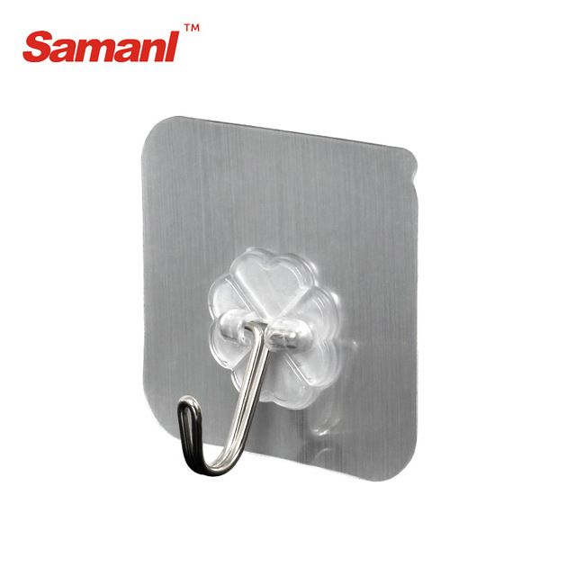 Source Self Adhesive Hanging Hooks Plastic Wall Hook Heavy Duty Hook On M Alibaba Com