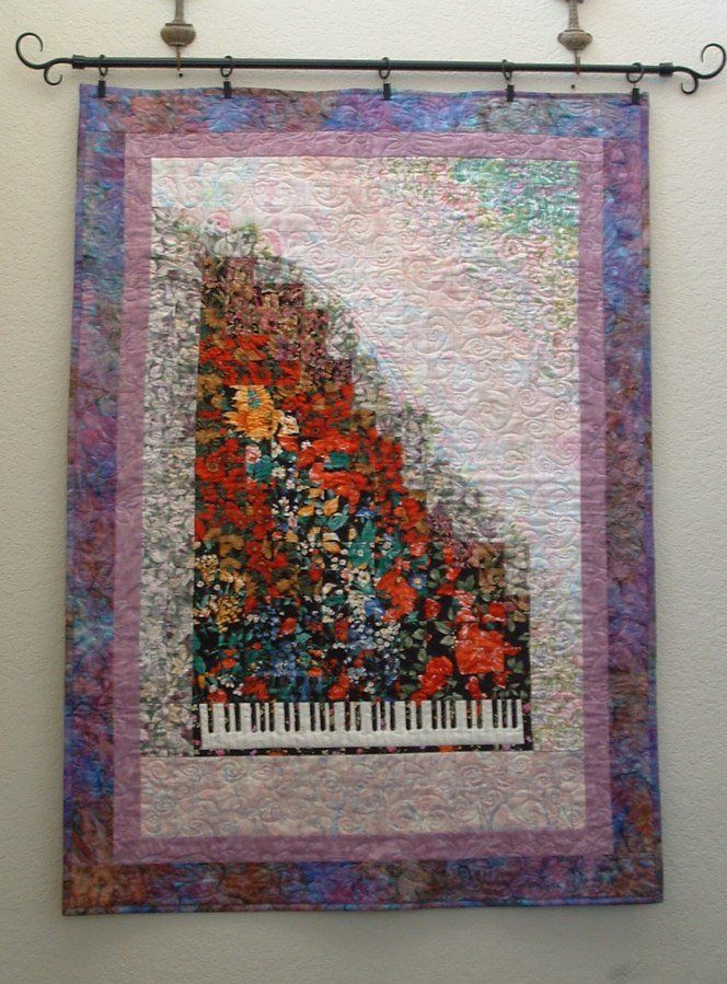 Book Cover Watercolor Quilts ~ Rhapsody in bloom quilting ideas pinterest