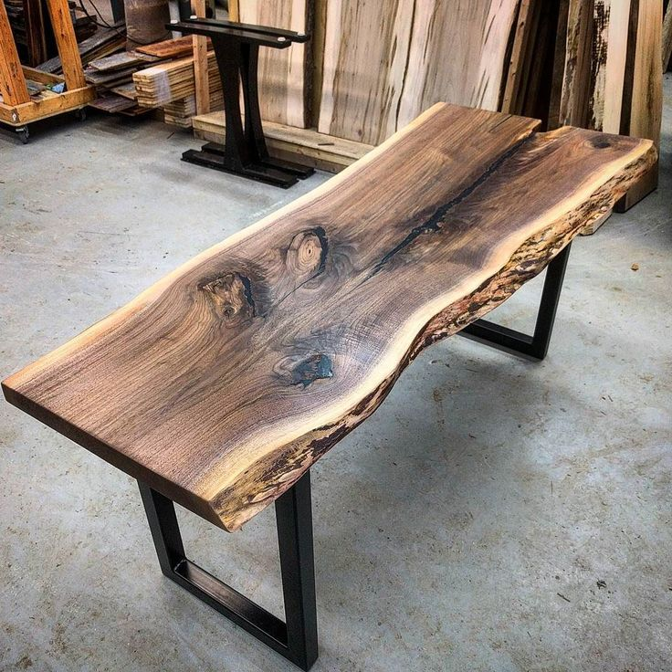 25 Best Ideas About Live Edge Bar On Pinterest