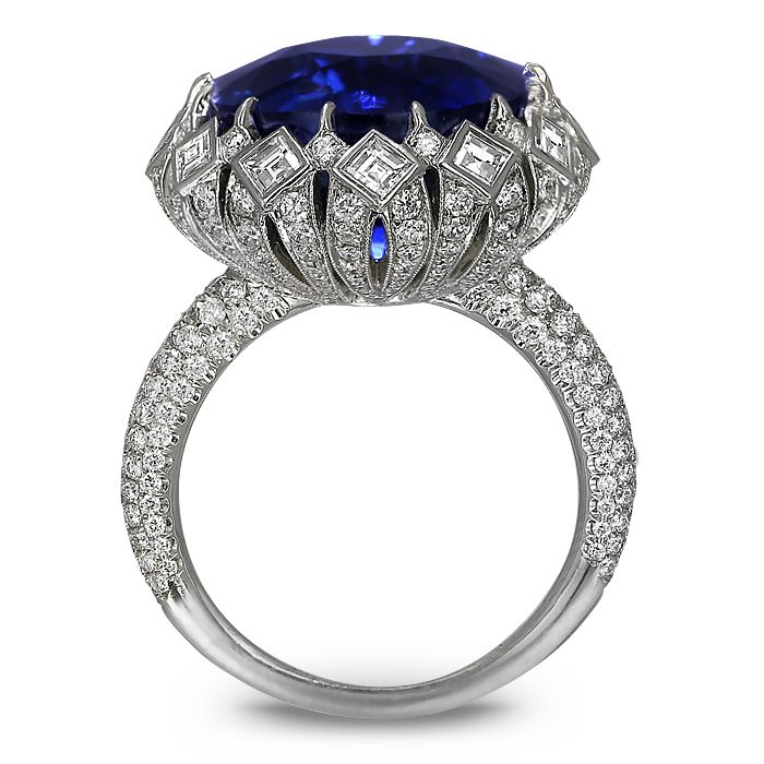 Sapphire Diamond Ring | Jacob & Co. | Timepieces | Fine Jewelry | Engagement Rings