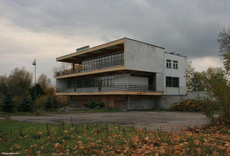 forgotten modernism in Skierniewice, Poland