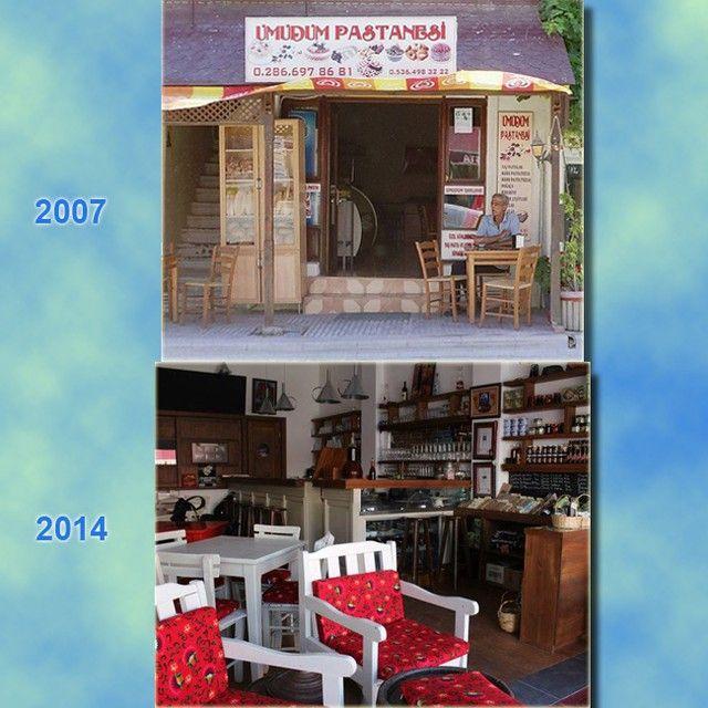 Nereden nereye... -2- #adacafe #bozcaada #adacafebozcaada #2007 #umudumpastanesi #geçmişzamanolurki adacafebozcaada's photo on Instagram