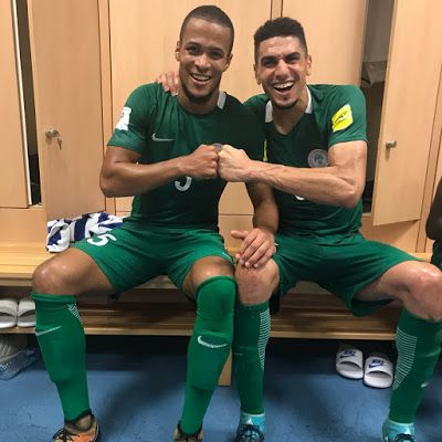 "Double Celebration: Super Eagles William Troost-Ekong celebrates Birthday in Camp after win over Cameroon  Double Celebration: Super Eagles William Troost-Ekong celebrates Birthday in Camp after win over Cameroon  Super Eagles of Nigeria defender William Troost-Ekong celebrates his 24th birthday after famous 4-0 win over Cameroon in Uyo Akwa-Ibom.  Nicknamed the ""King Kong"" by his teammates Super Eagles of Nigeria Defender William Troost-Ekong took to his Twitter account to share a photo of…"
