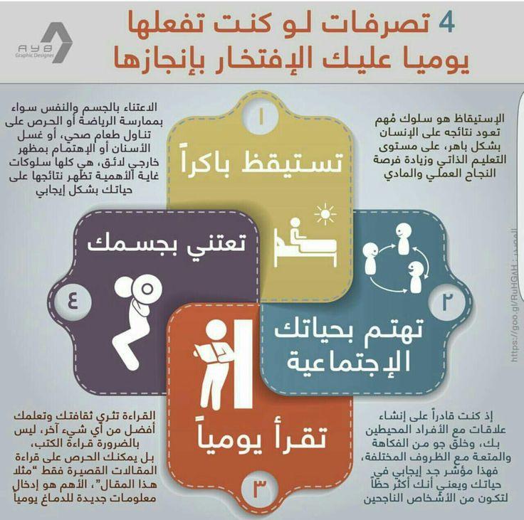 4 تصرفات لو كنت تفعلها يومياً عليك الافتخار بها