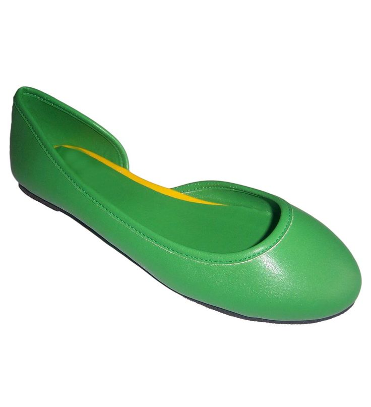 FFC NEW YORK Zedia Ballerinas Green