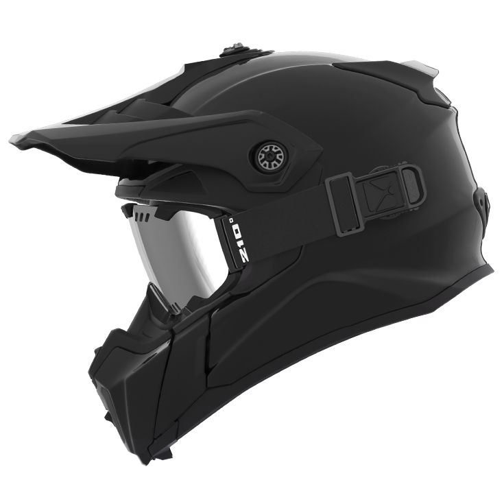 CKX - Off-road winter helmets - TITAN Atlas Black Glossy - kimpexnews.com