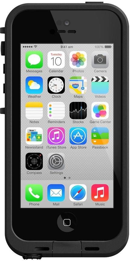 LifeProof Fre Case suits iPhone 5C - Black - LifeProof proudly boasts of being the thinnest, lightest, all-protective iPhone 5C case ever made. Its built-in scratch protector delivers complete to...