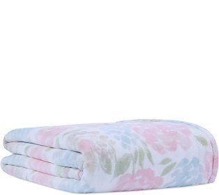 Berkshire Blanket Blooming Rose PrimaLush Throw