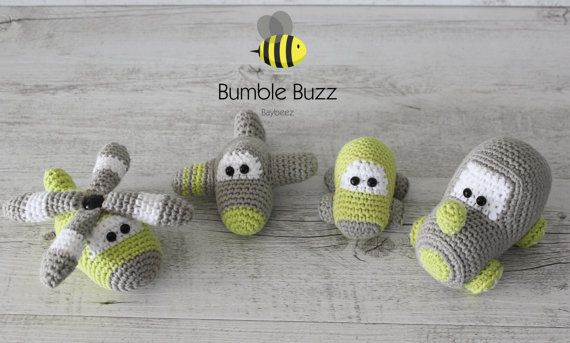 Lil Softies  Plane Helicopter Car Train Soft by BumbleBuzzBaybeez
