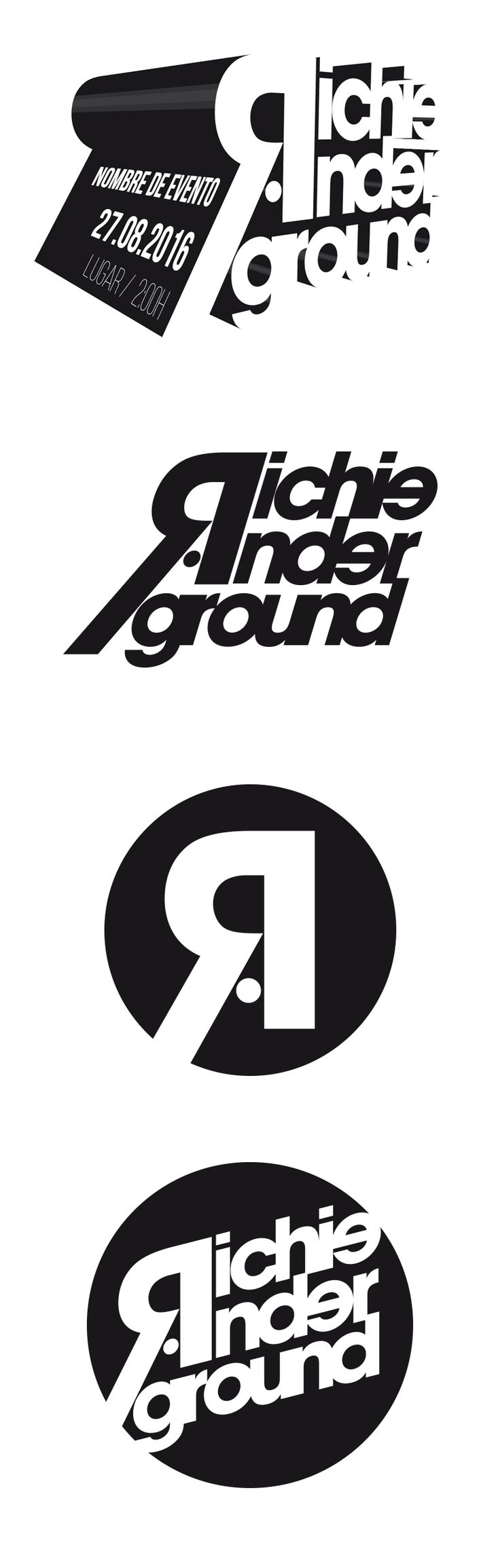 Richie Anderground Dee Jay - Logo
