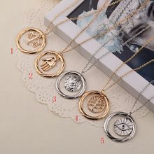 Vintage sieraden-als uiteenlopende candor erudiet amity onverschrokken zelfverloochening hanger ketting fashion party sieraden cosplay ketting(China (Mainland))