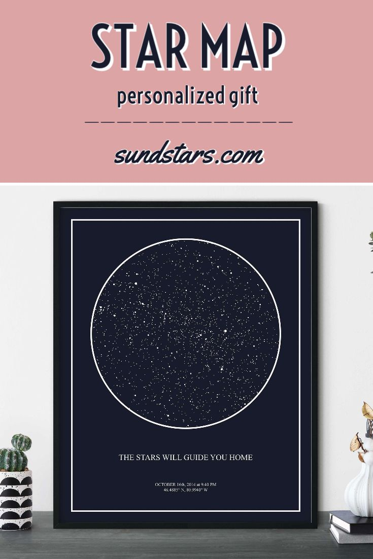 Star Map Print Custom By Date Printable Star Chart Astronomy Etsy Star Map Map Print Printable Star