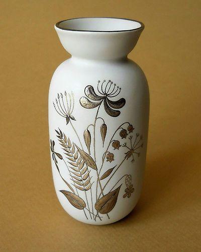 Stig Lindberg Designed Grazia Series Vase for Gustavsberg - Sweden