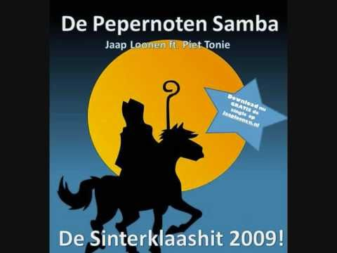 Jaap Loonen ft. Piet Tonie - De Pepernoten Samba - YouTube