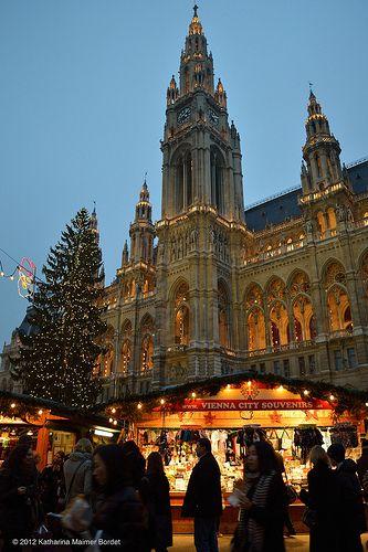 Christmas Market Vienna - Rathausplatz