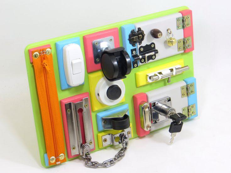 Busy Board Toddler Preschool Toy Montessori Materials -3100