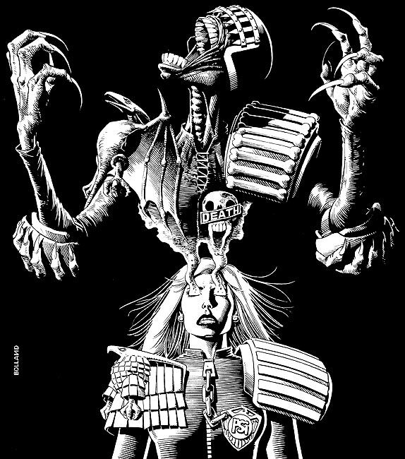 Death and Anderson - Brian Bolland