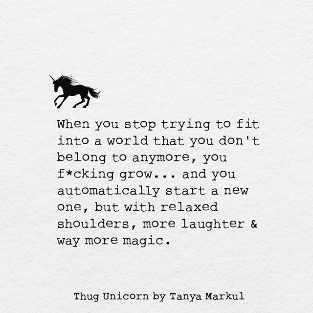 For reals . . .feel me? @thugunicorn @tanyamarkul