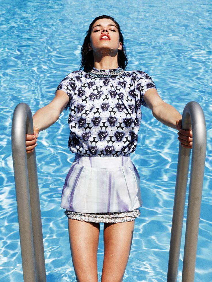 EvaDoll05 Eva Doll Makes a Splash in Nadine Ottawas Shoot for Friday Magazine