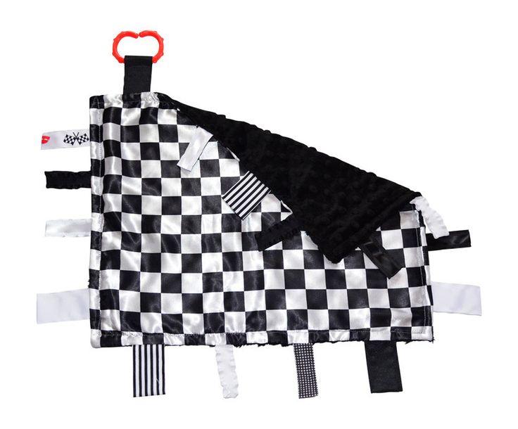 USA Made Racing Checkered Flag 14x18 Lovey