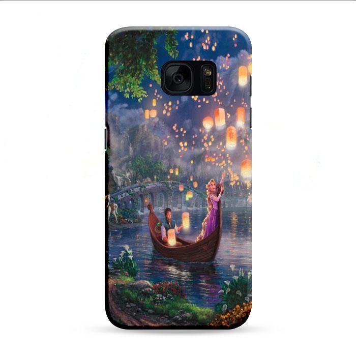 Tangled Cartoon Lantern Samsung Galaxy S7 Edge 3D Case