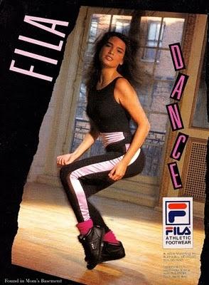 90's workout clothes  f i l a advertisements  pinterest