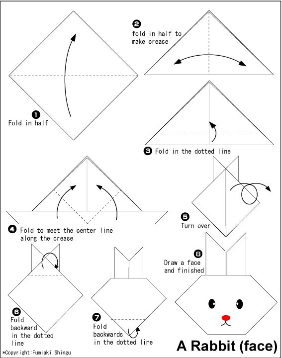 82 best images about origami on Pinterest | Simple origami ... - photo#20
