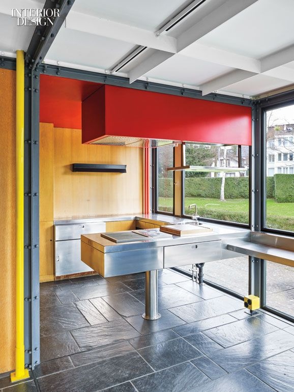 Zurich 39 s pavillon le corbusier serves as a monument to a for Kitchen design zurich