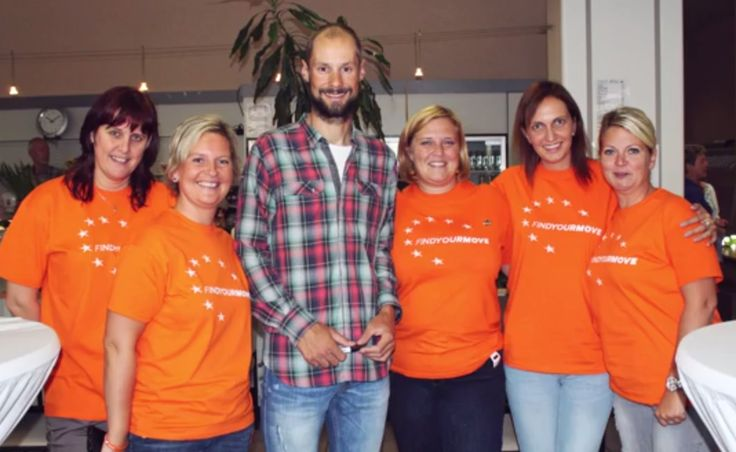 MOVE Week in Belgium - Employee Activation. SPF Finances got visit of Tom Boonen, the most famous Belgian professional cyclist.