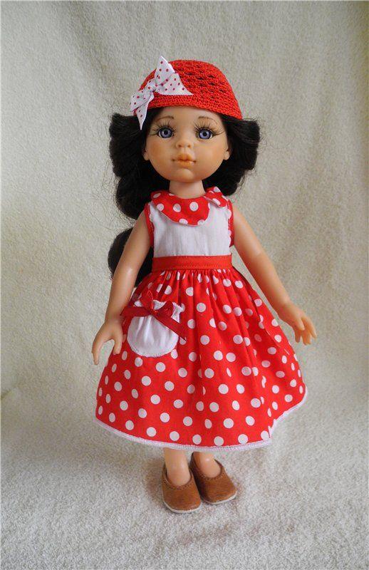 Нарядные комплекты для куколки размером 30 — 32 см Paola Reina и им подобным / Одежда для кукол / Шопик. Продать купить куклу / Бэйбики. Куклы фото. Одежда для кукол