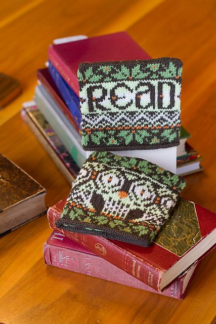 Ravelry: Athena's Bookends pattern by Kendra Nitta